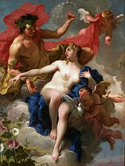 Bacchus and Ariadne (Pittoni)
