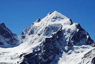 Piz Roseg mountain