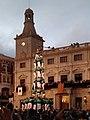 Plaça del Mercadal - 4d9 Castellers de Vilafranca.jpg