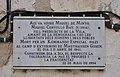 Placa en record a Miquel de Minyó, mort a Mauthausen, Planes (el Comtat).JPG