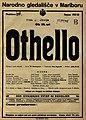 Plakat za predstavo Othello v Narodnem gledališču v Maribor 13. junija 1928.jpg