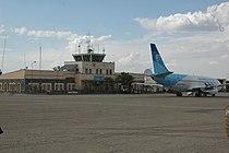 Plane of Pamir Airways at Herat Airport in 2010.jpg