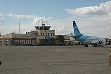 Plane of Pamir Airways at Herat Airport in 2010.jpg