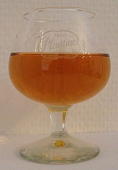 Dutch Brandy in a commemorative glass