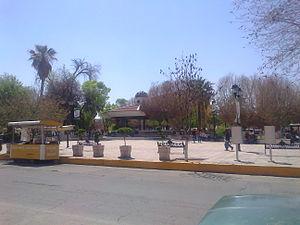 Gómez Palacio, Durango - The city's main square