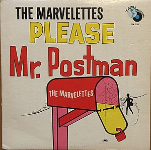 Please Mr. Postman - Image: Please Mr. Postman album