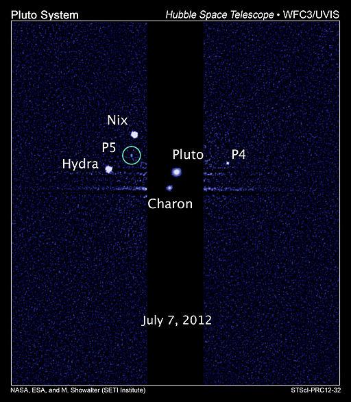 Pluto P5 Discovery Image
