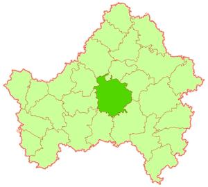 Pochepsky District - Image: Pochepsky raion Bryansk obl