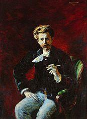 Portrait of Czesław Jankowski.