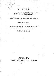 Giuseppe Torelli: Poesie italiane