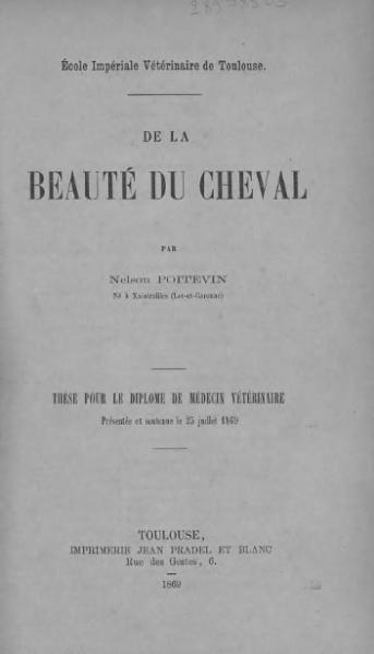 File:Poitevin - La beauté du cheval.djvu