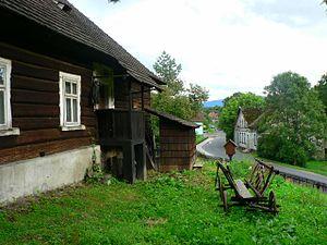 Stara Wieś, Silesian Voivodeship - An 18th-century parish school house in Stara Wieś