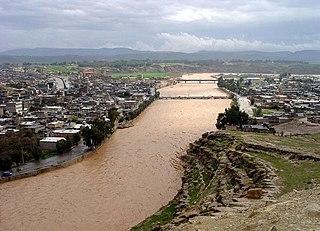Pol-e Dokhtar City in Lorestan, Iran