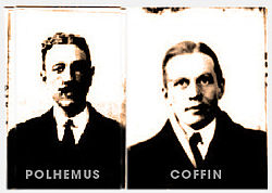 Passport photos, Lewis A Coffin, Jr and henry M Polhemus 1920
