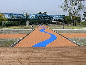 San Donà di Piave - Image: Ponte della Vittoria parcheggio