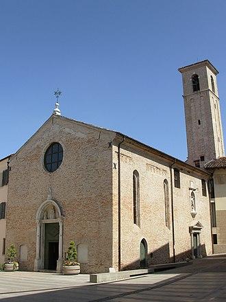 Pordenone - Church of Santa Maria degli Angeli.