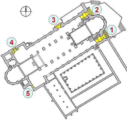 Portale Bamberger Dom