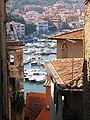Porto Ercole - Vista porto dalla rocca.JPG