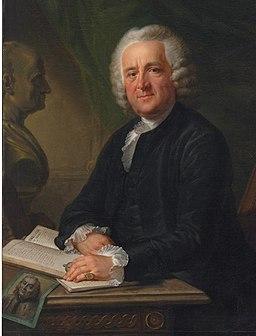 Porträt von Hans Caspar Hirzel