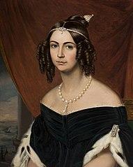 Portrait de Sa Majesté l´Impératrice Douarière du Brésil, Duchesse de Bragance
