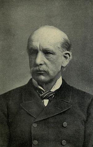 Alfred Comyn Lyall - Portrait of Alfred Comyn Lyall.