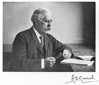 History of Medicine Society - Image: Portrait of Archibald Edward Garrod Wellcome M0018311