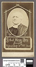 Portrait of Er cof am y Parch. Henry Rees, Liverpool (4670476).jpg