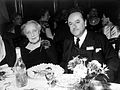 Portrait of Melanie Klein and gentleman seated at table Wellcome L0018667.jpg