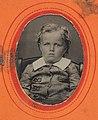 Portrait of a young boy, ca. 1856-1900. (4732552574).jpg