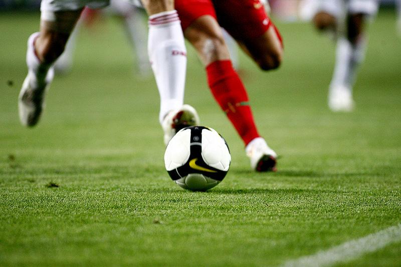 File:Portugal 2-3 Denmark, Football.jpg