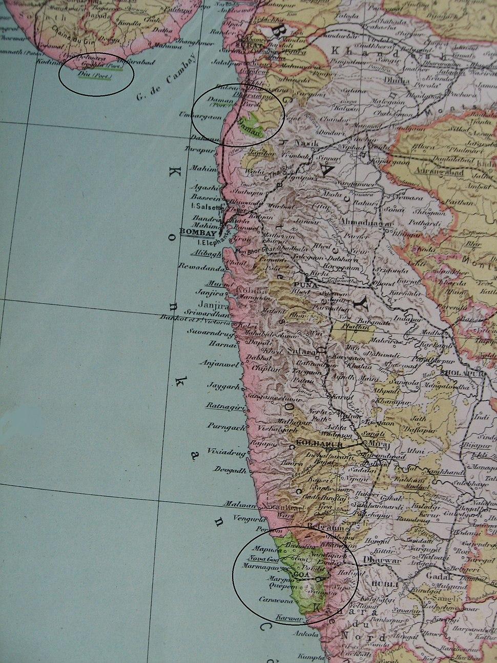 Portuguese India 1923