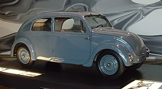 Volkswagen Beetle - Type 32 prototype, developed for NSU (Autostadt ZeitHaus, Wolfsburg)