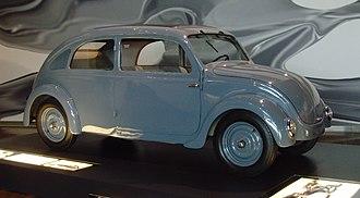 Volkswagen Beetle - Type 32 prototype, developed for NSU (Autostadt ZeitHaus, Wolfsburg)