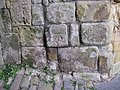 Possible 1GL bench mark on Scarborough Castle entrance - geograph.org.uk - 1524185.jpg