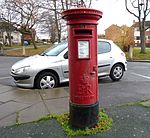 Post box on Gilroy Road, West Kirby.jpg