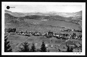 Jerinov Grič - Pre-World War II postcard of Jerinov Grič