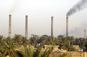 Power plant in Dora, Baghdad.