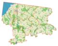 Powiat braniewski location map.png