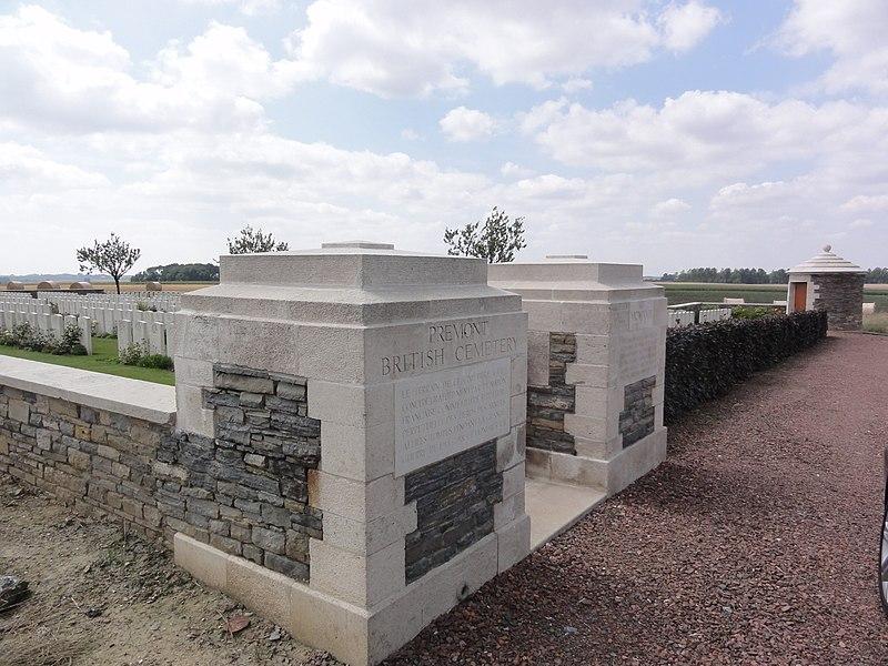 Prémont British Cemetery (Aisne)