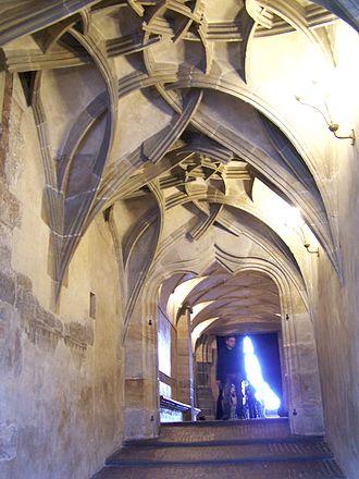 Equestrian staircase - Equestrian staircase in Prague Castle