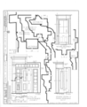 Pre-Emption House, Chicago Avenue and Main Street, Naperville, Du Page County, IL HABS ILL,22-NAPVI,1- (sheet 4 of 6).png