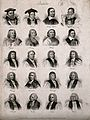Prelates; twenty portraits. Engraving by J.W. Cook, 1825. Wellcome V0006827.jpg
