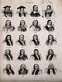 Prelates; twenty portraits. Engraving by J.W. Cook, 1825. Wellcome V0006827.jpg