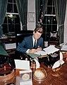 President Kennedy - signing Cuba Quarantine Proclamation.jpg