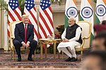 President Trump and the First Lady in India (49583813012).jpg
