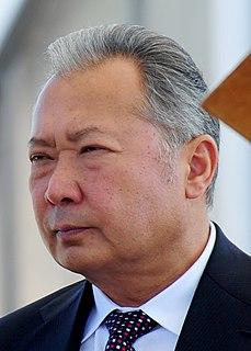 Kurmanbek Bakiyev President of Kyrgyzstan from 2005 to 2010