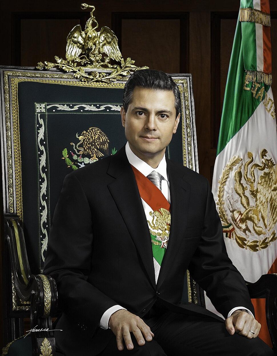 Presidente Enrique Peña Nieto. Fotografía oficial