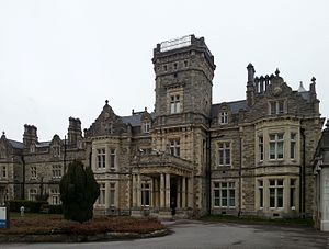 Preston Hall, Aylesford - Front view of Preston Hall