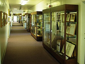 Prewitt–Allen Archaeological Museum - Display cases at the museum