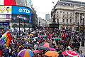 Pride London 2014 Piccadilly Circus.JPG
